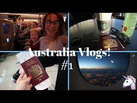 Manchester - Dubai✈ || Australia Vlog #1