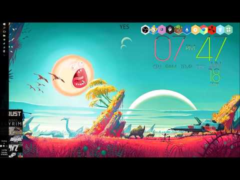 How to Make your own Rainmeter Honeycomb Icons