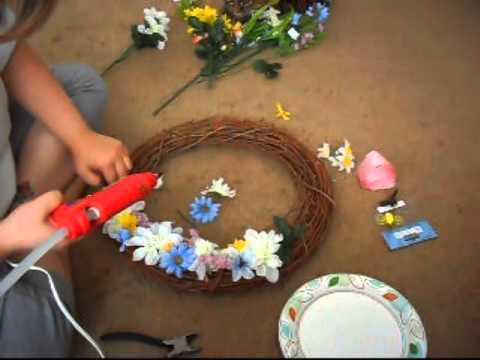 How to make a Spring Wreath | VEDA 2014