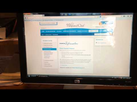 How to Sign in, set up Direct Deposit and Order Payment Accounts