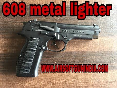 608 full black  ciggerate lighter replica  by airsoft gun india