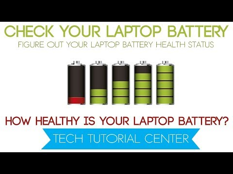 how to check your laptop battery health in windows 7,8,8.1,10