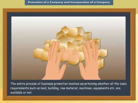 Promotion of a Company and Incorporation of a Company | IkenEdu | CBSE | ICSE