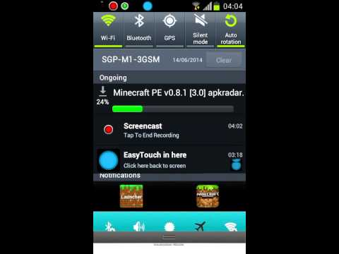 How to download Minecraft Pe 0.8.1 for free!!