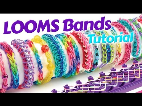 Loom Bands Instructions 2015 - How to make a Inverted Fishtail Loom Bracelet