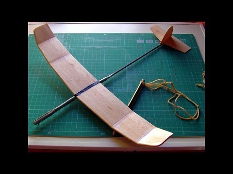 How to make a great catapult balsa glider