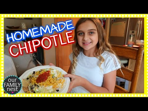 MAKING OUR OWN CHIPOTLE BOWLS!