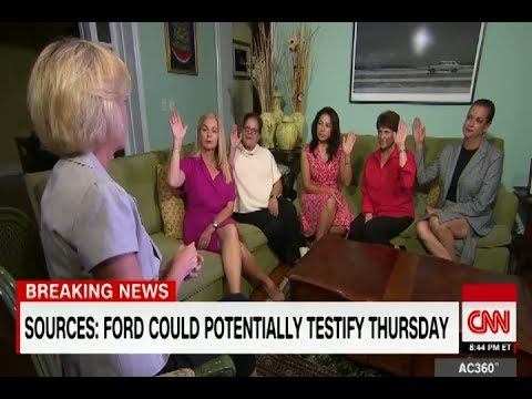 CNN's All-Female Panel Goes Five For Five In Support Of... Kavanaugh