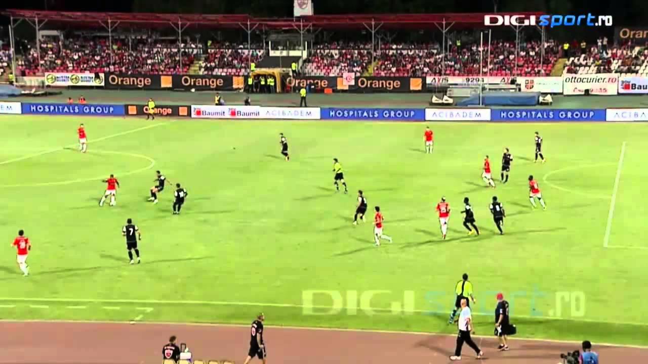 Dinamo - U Cluj 6-0 - Rezumat HD, 24.08.2013 -