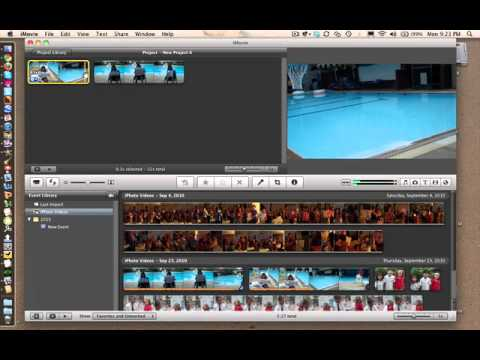 iMovie Moving and Trimming