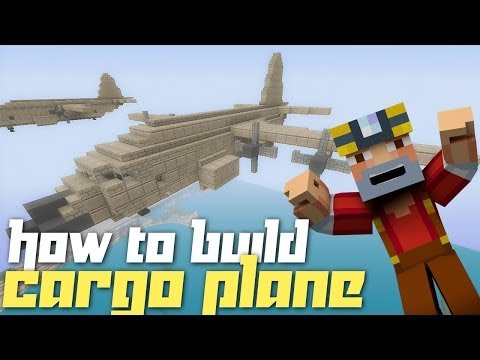 Minecraft Xbox 360: How to Build a Cargo Plane!