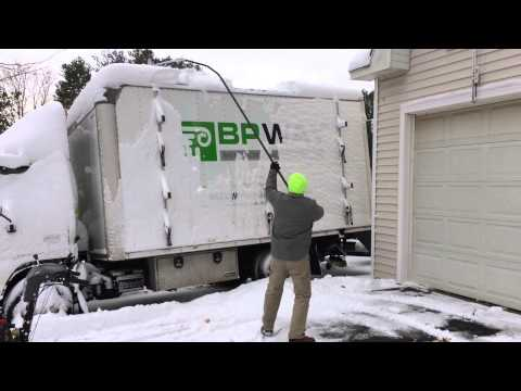 Box Truck Roof Rake For Snow Removal