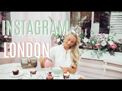 THE INSTAGRAM GUIDE TO LONDON   // A City Tour & Summer Lookbook  // Fashion Mumblr
