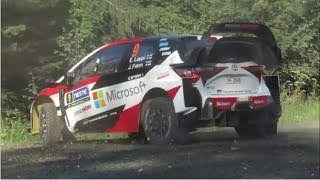 Neste Rally Finland 2018 Day 2 Mistakes & Show