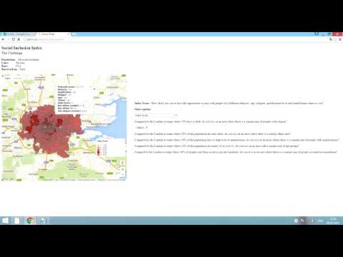Interactive map in Google Fusion Table + html