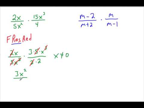 8th grade 11-2 Multiplying and Dividing Rational Expressions.mp4