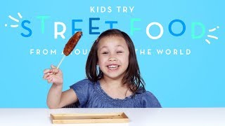 Download Kids Try Street Food from Around the World | Kids Try | HiHo Kids Video