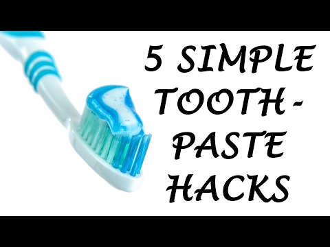 5 Simple Toothpaste Life Hacks