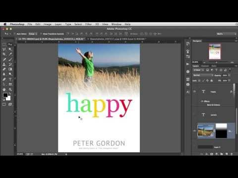 Photo Effect Tip - Ebook Cover Design in Photoshop (Tutorial)