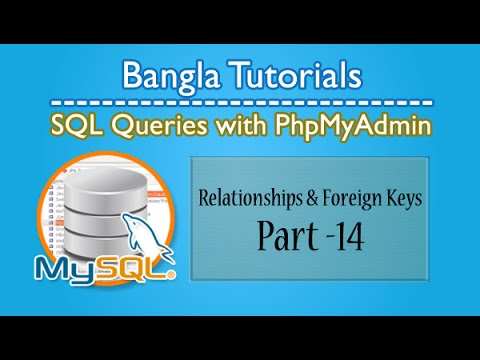 SQL Queries With PhpMyAdmin (Relationships & Foreign Keys)-Part:14
