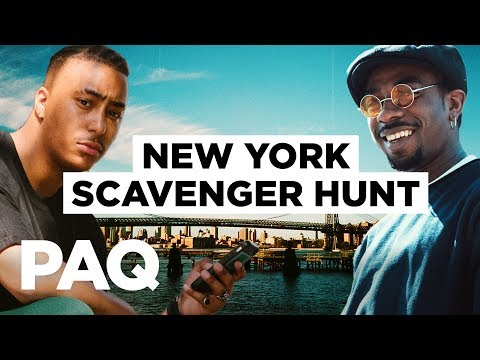 PAQ Ep #12 - A scavenger hunt around New York City