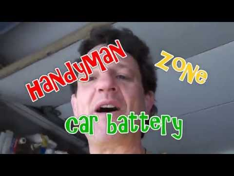 replace dead battery in car