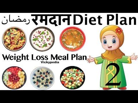 Ramadan Diet Plan 2 Hindi | Ramzan Meal Plan For Weight Loss | Lose Weight 20 Kgs in 30 Days