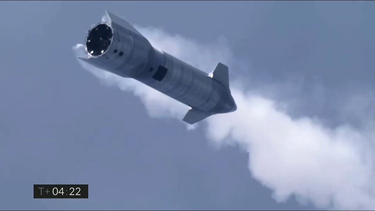 SpaceX Starship SN10 soars, lands for first time!