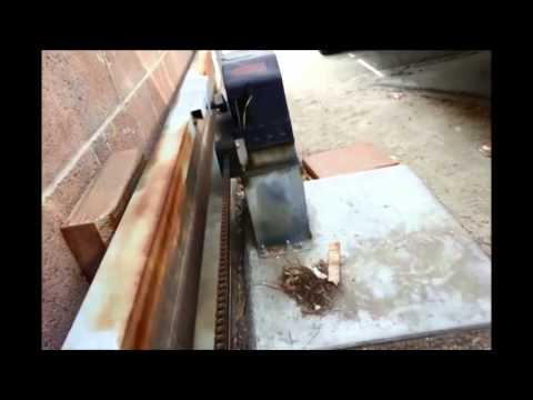 DIY SLIDING GATE OPENER FOR LESS THAN $300