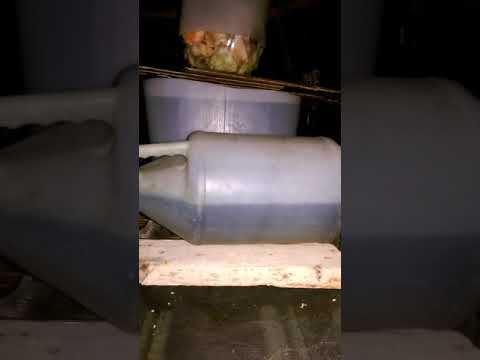 How to set up a manual  fish tank pump without electricity