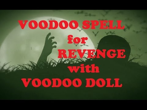 Voodoo Spells for Revenge with Voodoo Doll (real ritual) 🌟🌟🌟🌟🌟
