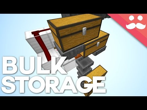 How To Build Auto Shulker Box Storage in Minecraft 1.11!