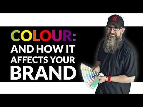 Colour, and what it means for your brand. Logo design colours.