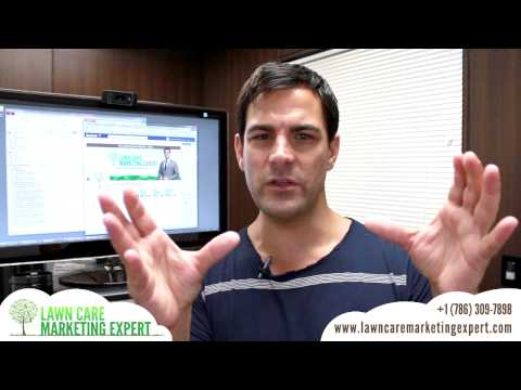 Facebook Marketing For Lawn Care Businesses - Tip 1
