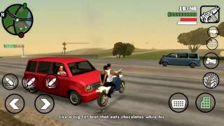 لعبة درايفر : الحلقة 12 سباقات مع الرجل الاعمى درايفر للموبايل GTA SA #12
