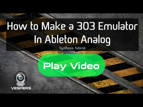 Ableton Analog Tutorial: How to Make a 303 Acid Synth Emulator (FREE Patch DOWNLOAD)