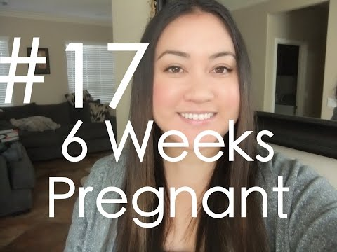 IVF Diary #18 - 6 Weeks Pregnant Update (2nd Ultrasound)