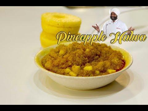 Pineapple Halwa | Instant Indian Dessert|Chef Harpal Singh Sokhi