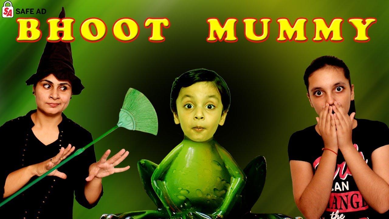 SHORT MOVIE   BHOOT MUMMY   #Fun #Roleplay #Bloopers   Good Habits   Aayu and Pihu Show