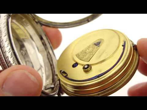 Antique Fusee Pocket Watch