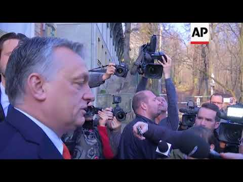 Orban casts vote, says he's