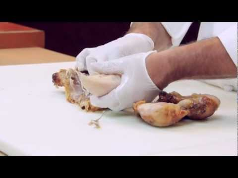 How to pull the meat from a whole Chicken