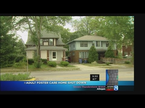 Adult Foster Care Home Shut Down