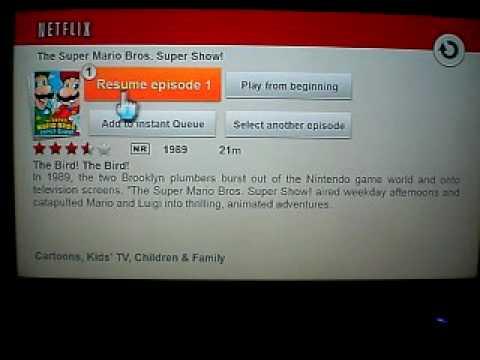 Netflix (Wii) Demonstration