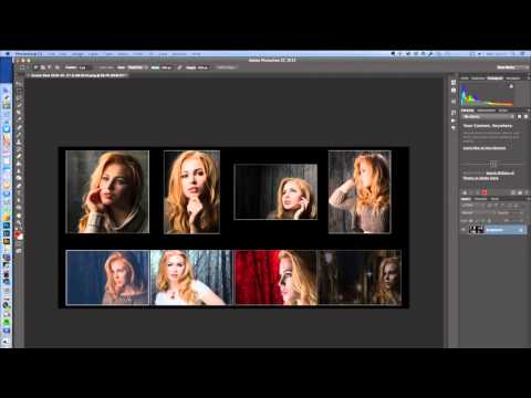How to make a quick collage of images with Lightroom & Photoshop