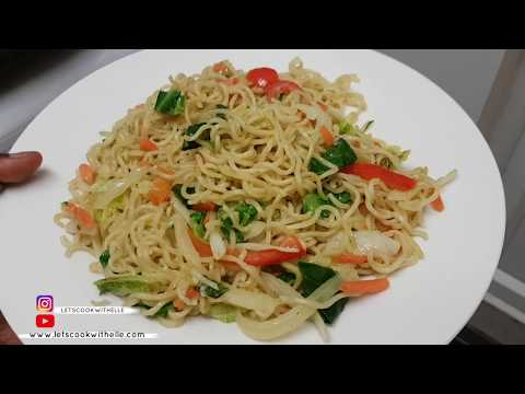 How To Make Indomie Instant Noodles/ Stir Fry