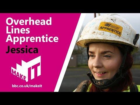 OVERHEAD LINES APPRENTICE | BBC Make It