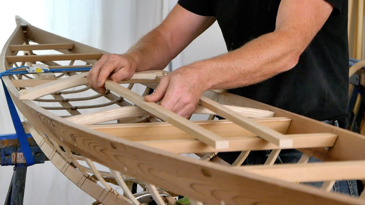 Building a West Greenland Kayak, Step by Step