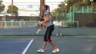 Belinda Bencic Forehand & Backhand(Slow Motion) HD