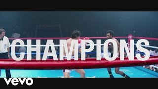 "Usher, Rubén Blades - Champions (from the Motion Picture ""Hands Of Stone"")[Lyric Video]"